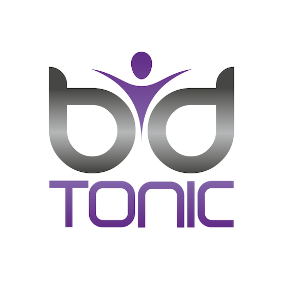 Finalised digital version of the BD Tonic logo designed by Dischro Creative